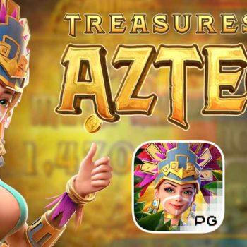เกมสล็อตออนไลน์ Treasures of Aztec สล็อตแตกง่าย 2021