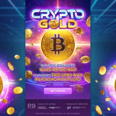 เกม CRYPTO GOLD สล็อตออนไลน์ แตกง่าย ค่าย PG