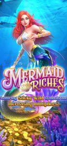 PG SLOT เกมใหม่ Mermaid riches
